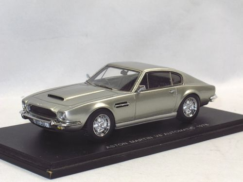 Spark 1978 Aston Martin V8 Automatic Silbergrau Modellauto 1 43