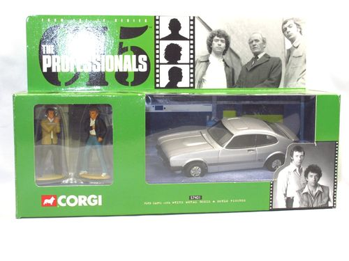 Corgi Ford Capri THE PROFESSIONALS Die Profis m. Figuren 1/36