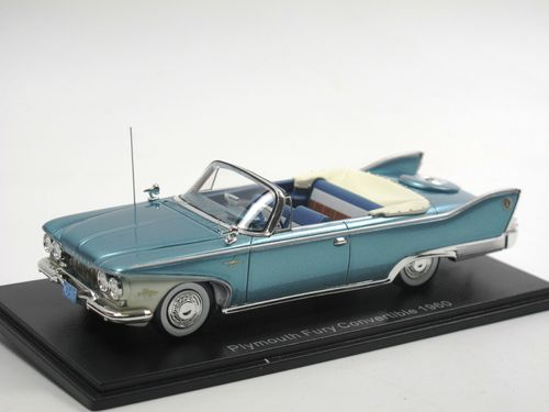 Neo 1960 Plymouth Fury Convertible türkis 1/43