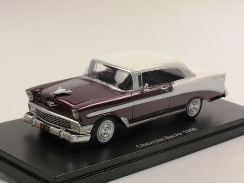 Neo 1956 Chevrolet Bel Air Sport Coupe rot/creme 1/43