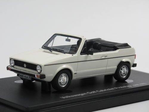 Autocult Avenue 43 VW Golf I Cabriolet Prototyp 1976 1/43