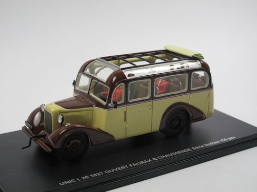 PERFEX 1937 Unic L20 Faurax & Chaussende offen 1/43