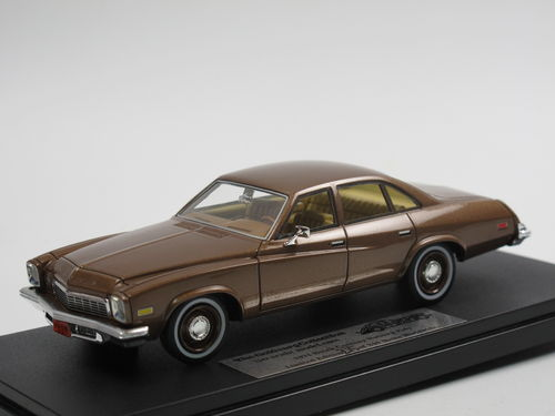 Goldvarg 1974 Buick Century 4-Door Sedan Nutmeg Poly 1/43