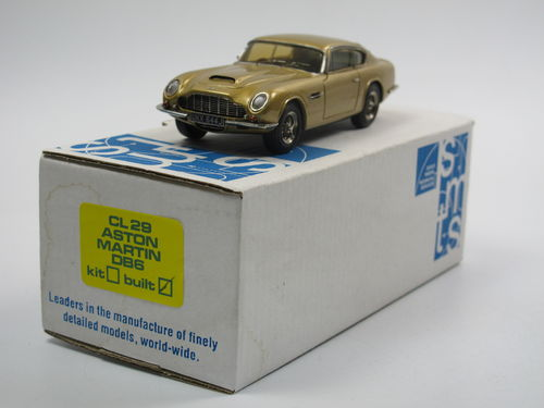 SMTS 1965 Aston Martin DB6 Coupe gold 1/43