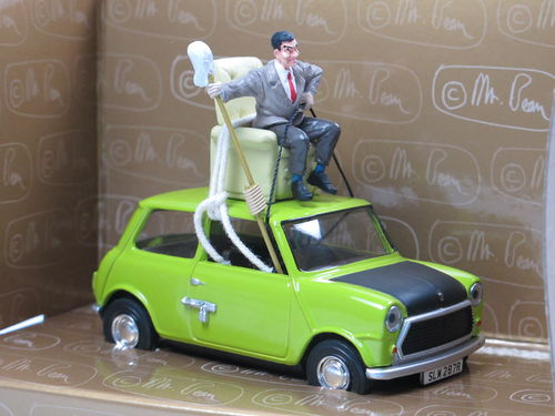 Corgi Do it yourself Mr. Bean Mini mit Figur 1/36
