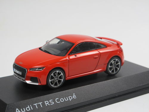 iScale 2016 Audi TT RS Coupe Catalunyarot 1/43