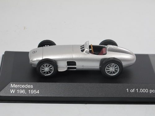 WhiteBox 1954 Mercedes-Benz W196 Silberpfeil 1/43